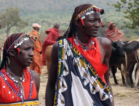 Los nilotes es una de las etnias principales en Kenia