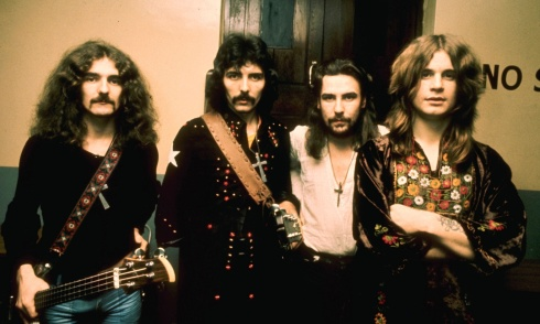 Los 70 era la época dorada de rock. Black Sabbath