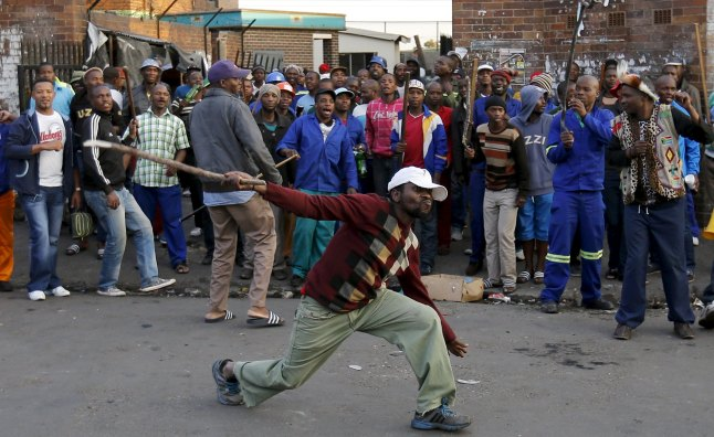 Violencia xenófoba en Sudafrica contra inmigrantes de países vecinos.