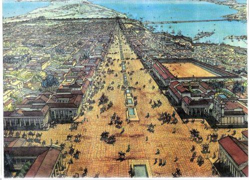 """Alejandría antigua estaba dividida entre las secciones griegas, egipcias y la de los """"mercenarios"""""""