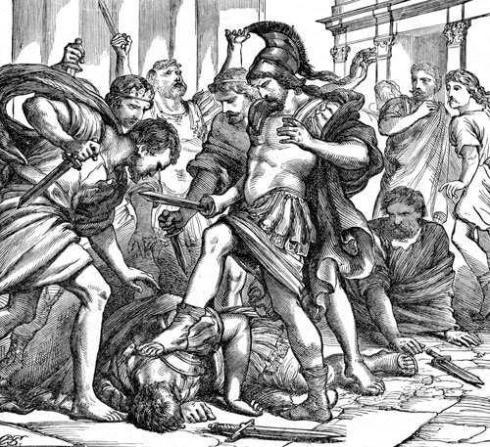 La muerte violenta de Tiberio Graco